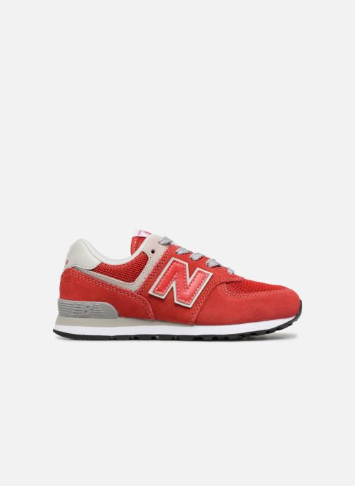 Sneaker New Balance KV574 J rot ansicht von hinten