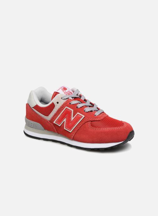 Sneaker New Balance KV574 J rot detaillierte ansicht/modell