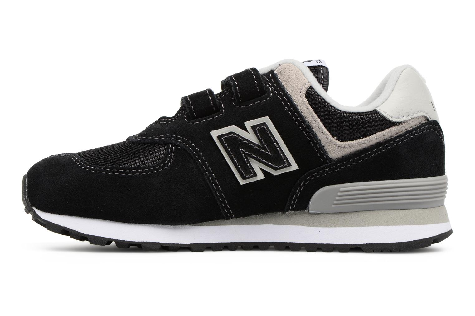 Trainers New Balance KV574 J Black front view