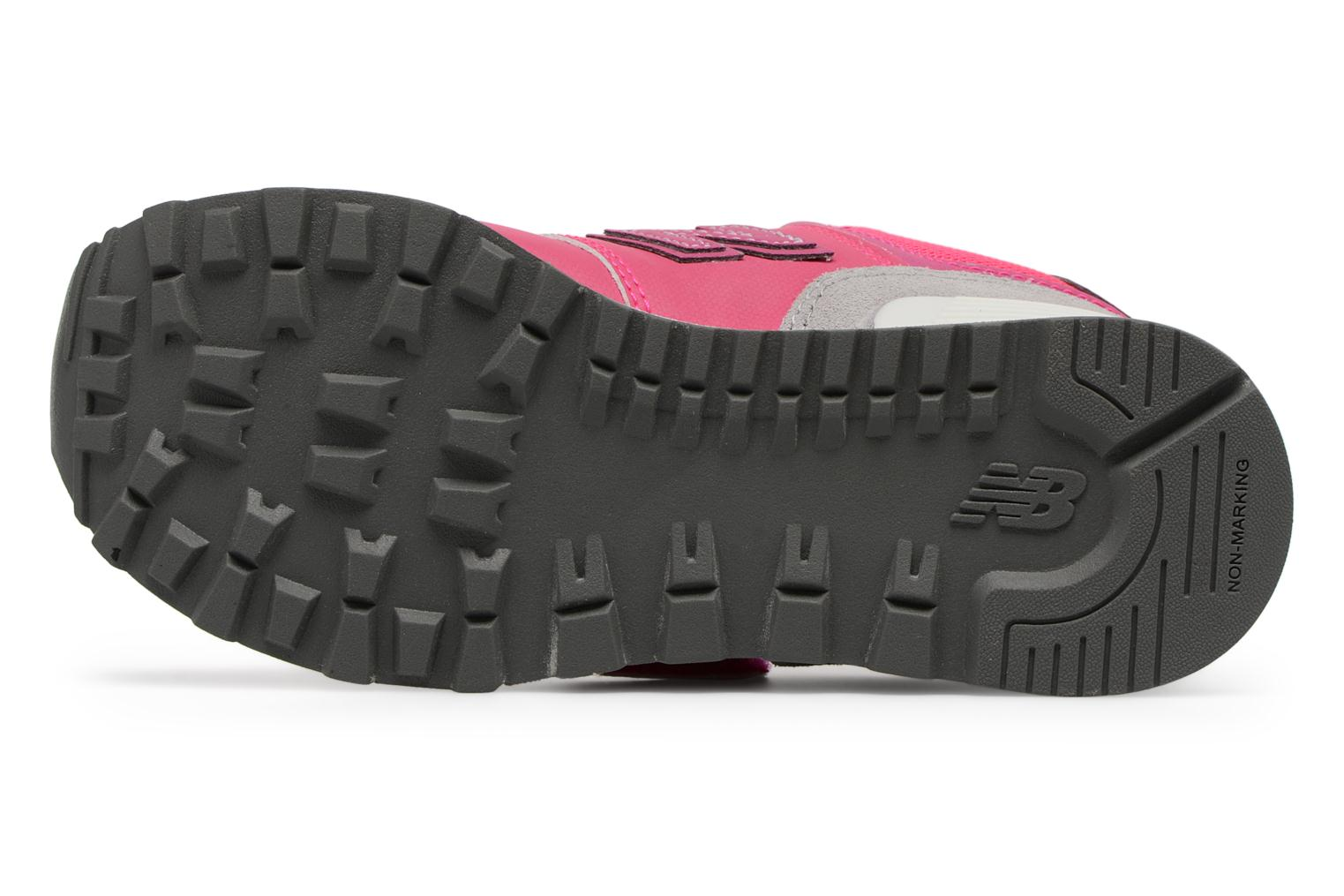 Trainers New Balance KV574 J Pink view from above