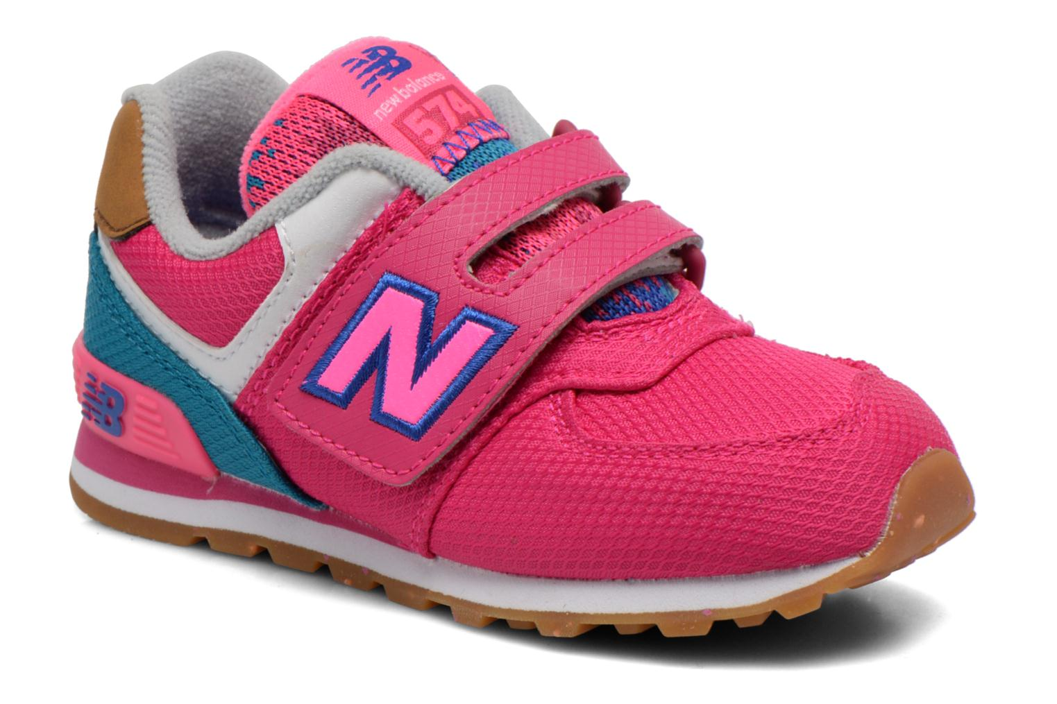 Trainers New Balance KG574 I Pink detailed view/ Pair view