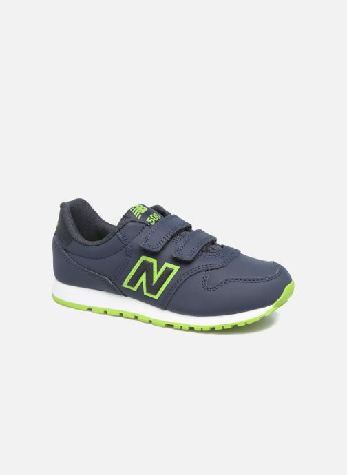 Trainers New Balance KV500 J Blue detailed view/ Pair view