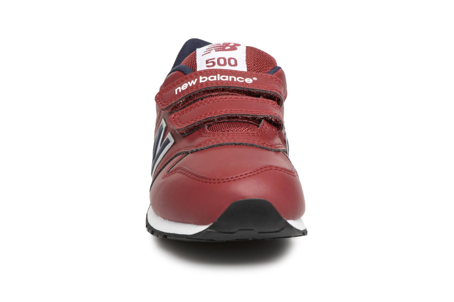Trainers New Balance KV500 J Burgundy model view