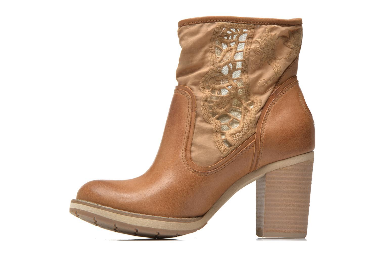 Bottines et boots Bunker Grace Row Marron vue face