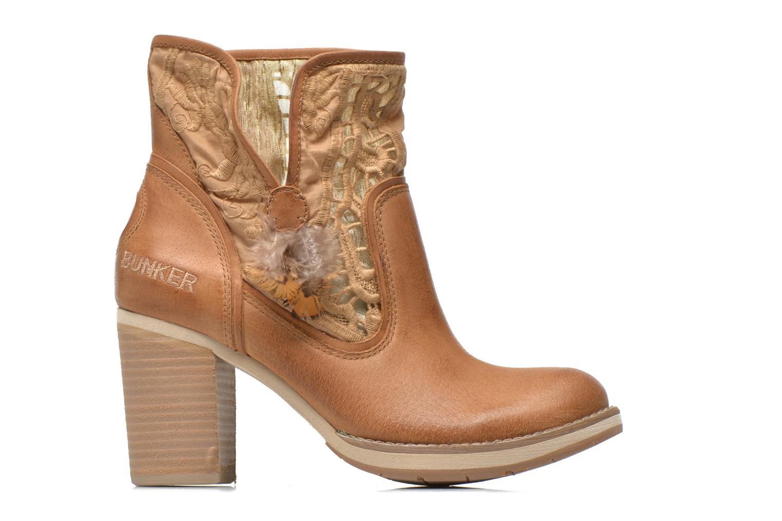 Ankle boots Bunker Grace Row Brown back view