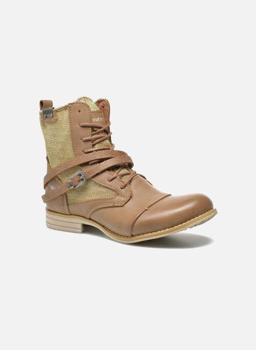 Boots Bottines marron Et Chez 250660 Sara Kol Sarenza Bunker nHXFq4Pw