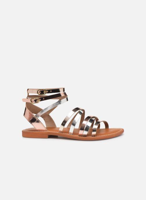 Sandales et nu-pieds L'Atelier Tropézien Juliette Or et bronze vue derrière