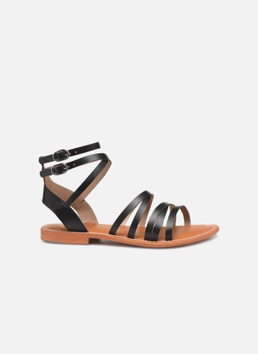 Sandales et nu-pieds L'Atelier Tropézien Juliette Noir vue derrière