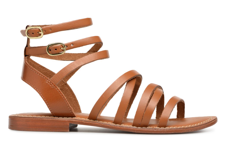 Sandales et nu-pieds L'Atelier Tropézien Juliette Marron vue derrière