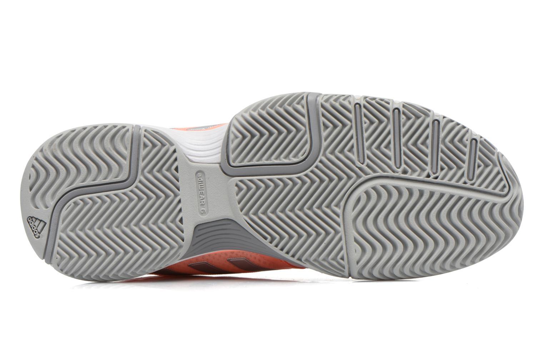 Chaussures de sport Adidas Performance Barricade Club W Blanc vue haut