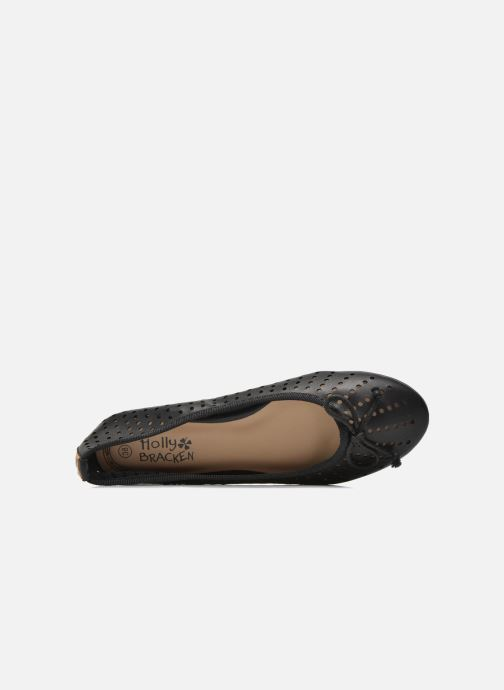 Ballerinas Molly Bracken Girly schwarz ansicht von links