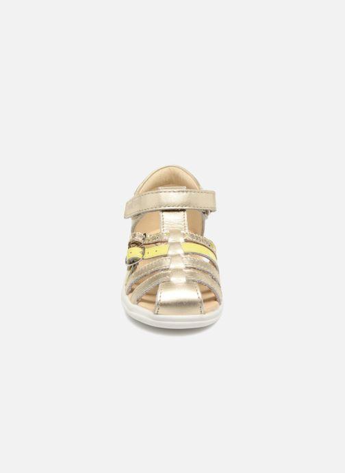 Sandales et nu-pieds Shoo Pom Pika Spart Or et bronze vue portées chaussures