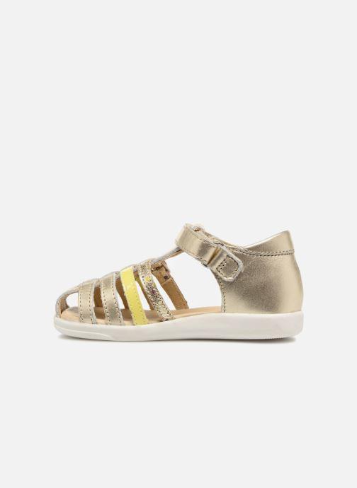 Sandales et nu-pieds Shoo Pom Pika Spart Or et bronze vue face