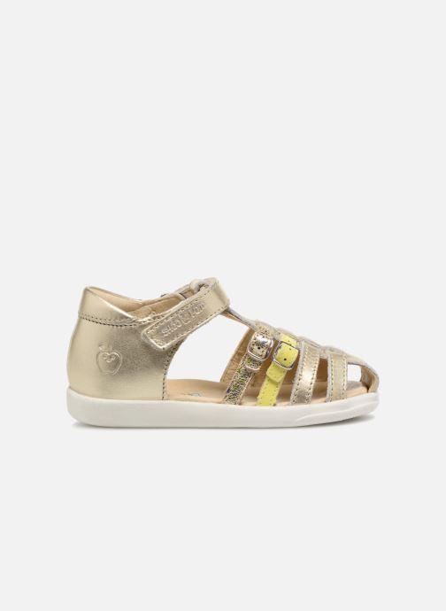 Sandales et nu-pieds Shoo Pom Pika Spart Or et bronze vue derrière