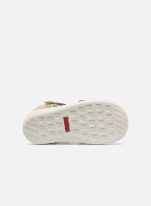 Sandales et nu-pieds Shoo Pom Pika Spart Or et bronze vue haut