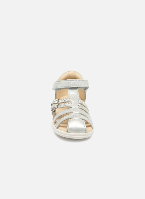 Sandals Shoo Pom Pika Spart Silver model view