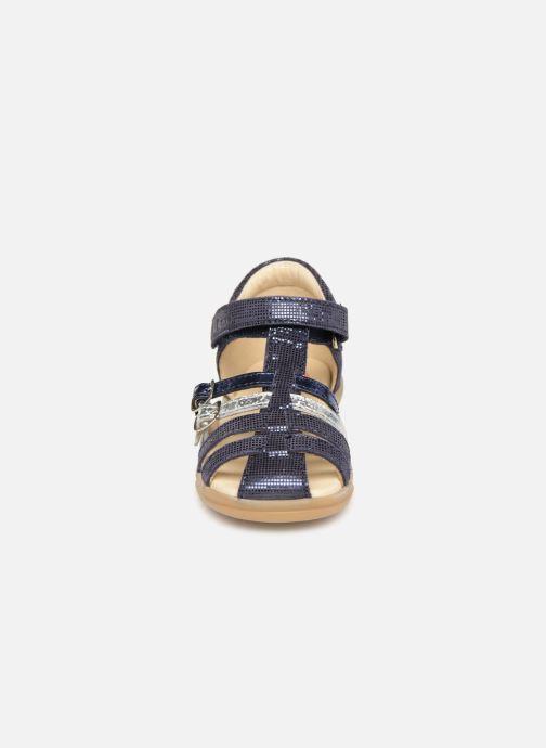 Sandali e scarpe aperte Shoo Pom Pika Spart Azzurro modello indossato
