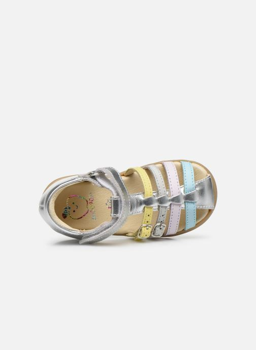 Sandales et nu-pieds Shoo Pom Pika Spart Multicolore vue gauche