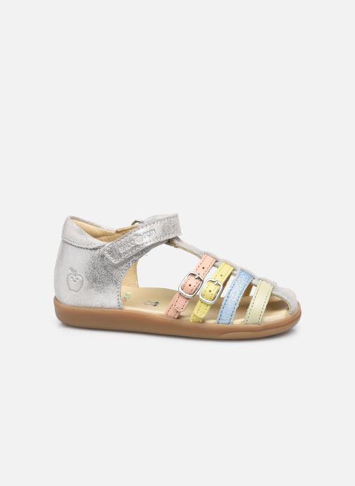 Sandales et nu-pieds Shoo Pom Pika Spart Argent vue derrière
