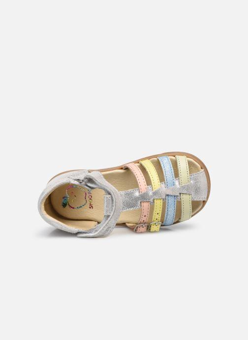 Sandales et nu-pieds Shoo Pom Pika Spart Argent vue gauche