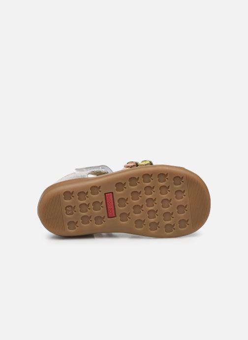 Sandales et nu-pieds Shoo Pom Pika Spart Argent vue haut