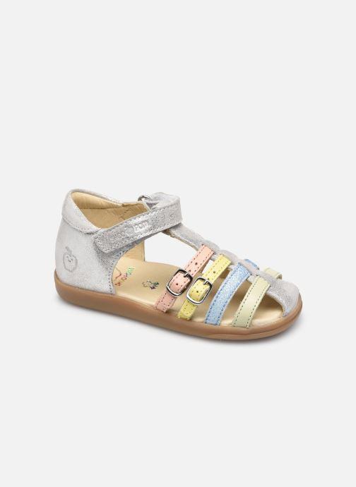 Sandales et nu-pieds Shoo Pom Pika Spart Argent vue détail/paire