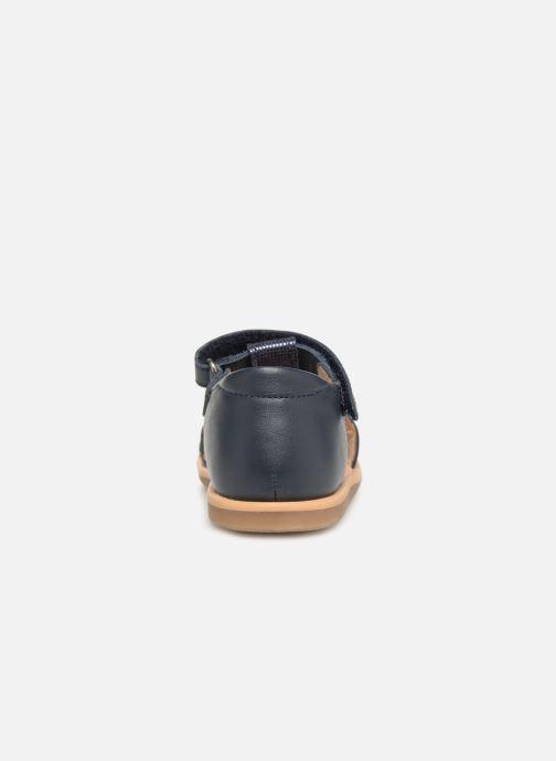 Sandales et nu-pieds Shoo Pom Tity Fringe Bleu vue droite