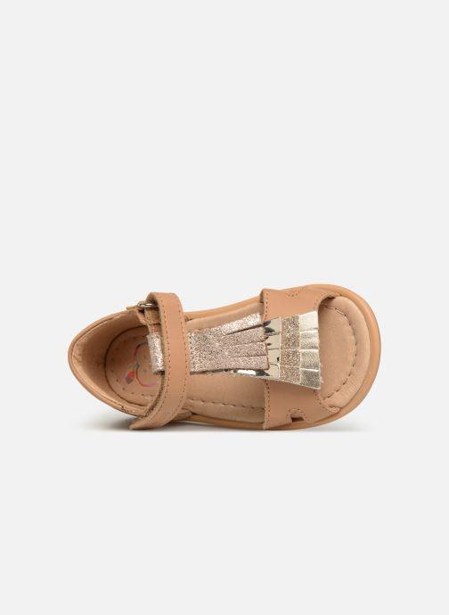Sandali e scarpe aperte Shoo Pom Tity Fringe Marrone immagine sinistra