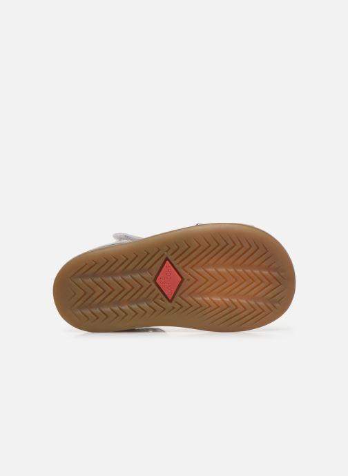Sandales et nu-pieds Shoo Pom Tity Fringe Argent vue haut