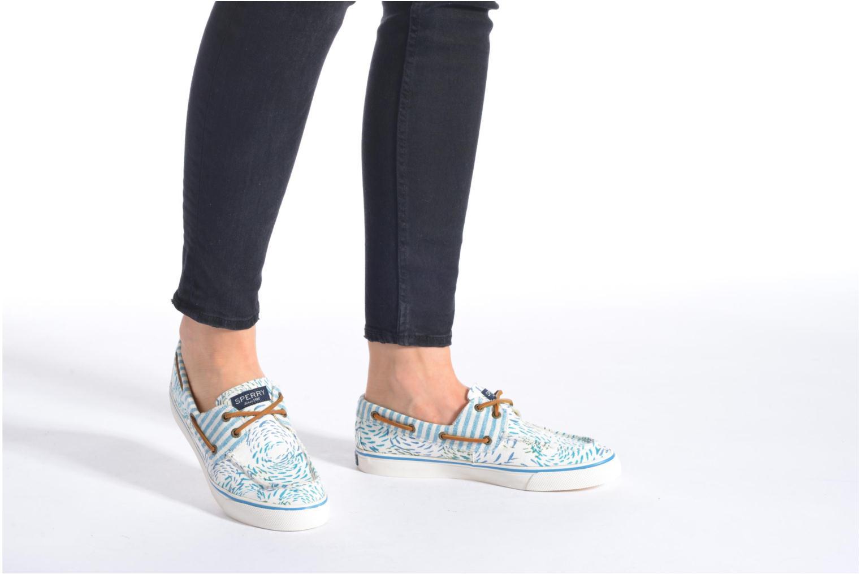Zapatos con cordones Sperry Bahama Fish Circles Azul vista de abajo