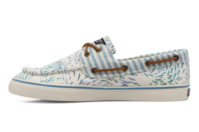 Zapatos con cordones Sperry Bahama Fish Circles Azul vista de frente