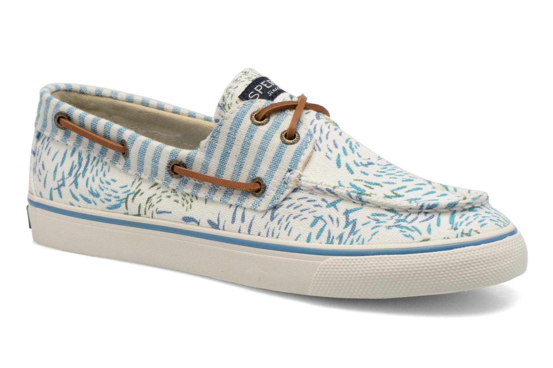 Zapatos con cordones Sperry Bahama Fish Circles Azul vista de detalle / par