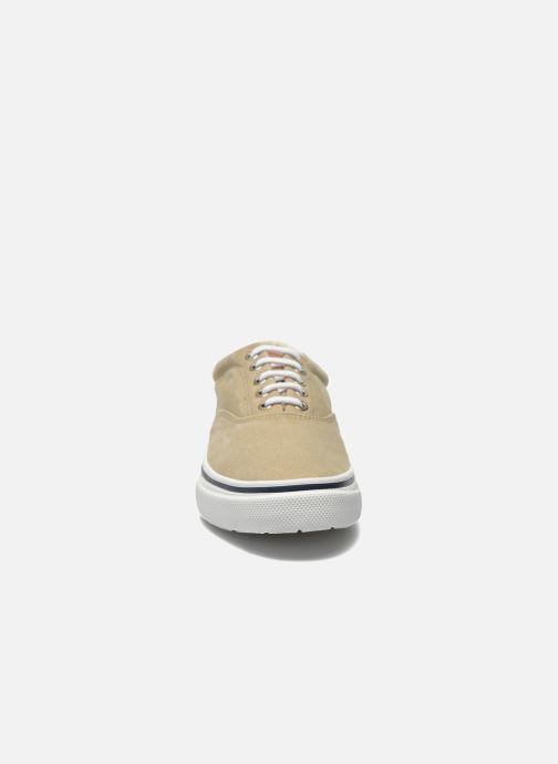 Baskets Sperry Striper LL CV010 Beige vue portées chaussures