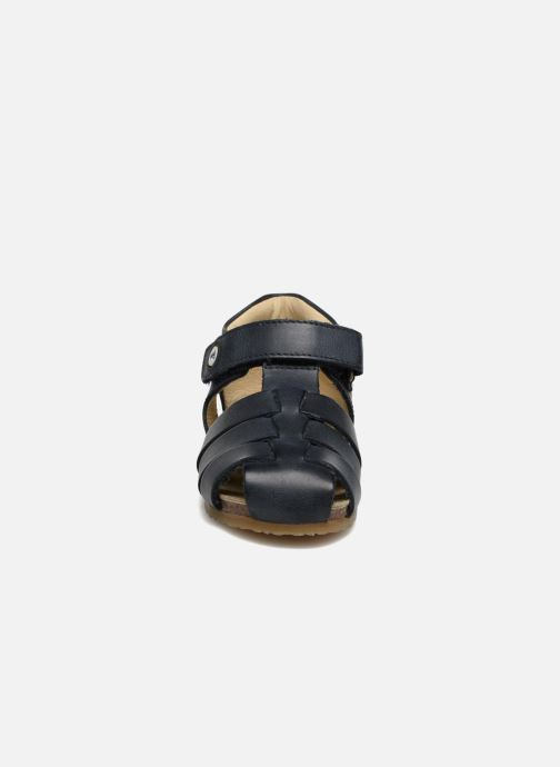 Sandales et nu-pieds Naturino Gabriele 1405 Bleu vue portées chaussures