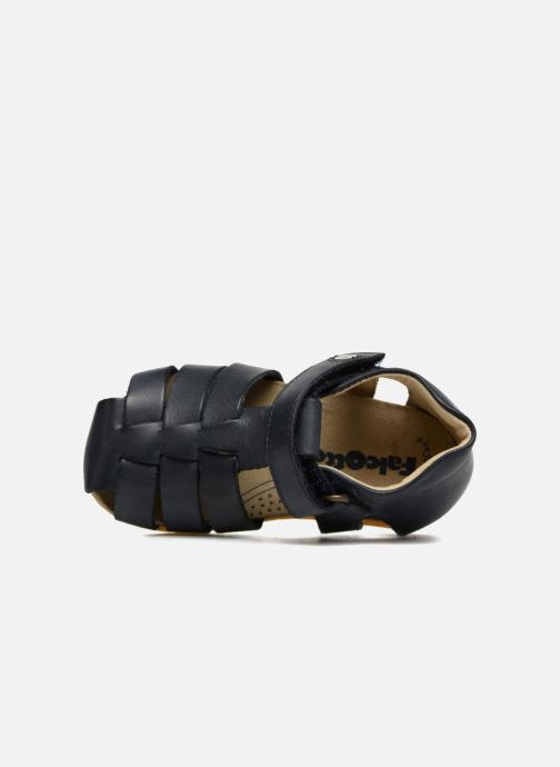 Sandales et nu-pieds Naturino Gabriele 1405 Bleu vue gauche