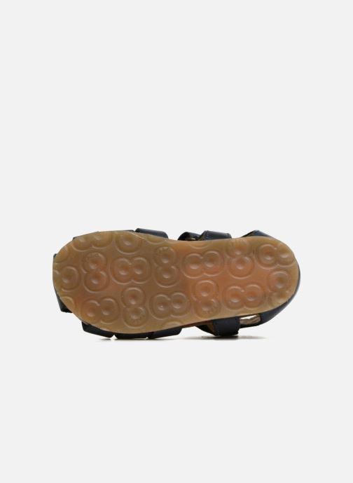 Sandales et nu-pieds Naturino Gabriele 1405 Bleu vue haut