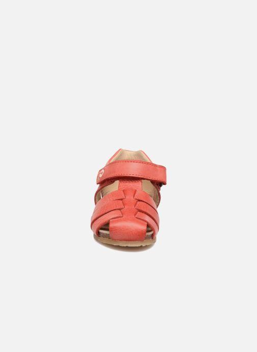 Sandales et nu-pieds Naturino Gabriele 1405 Rouge vue portées chaussures