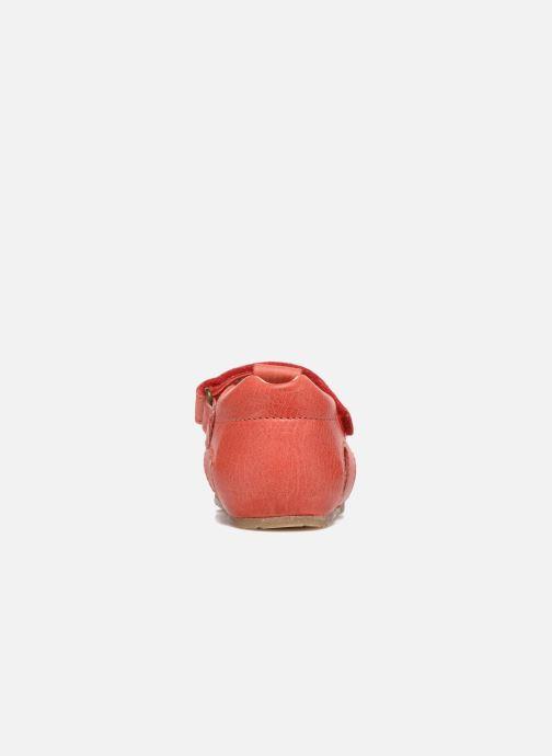 Sandales et nu-pieds Naturino Gabriele 1405 Rouge vue droite