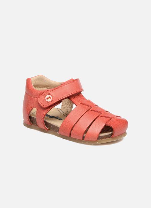 Sandales et nu-pieds Naturino Gabriele 1405 Rouge vue détail/paire