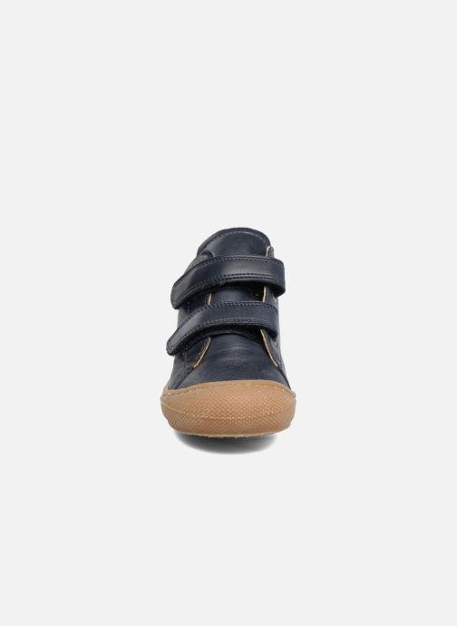Baskets Naturino Cocoon VL Bleu vue portées chaussures