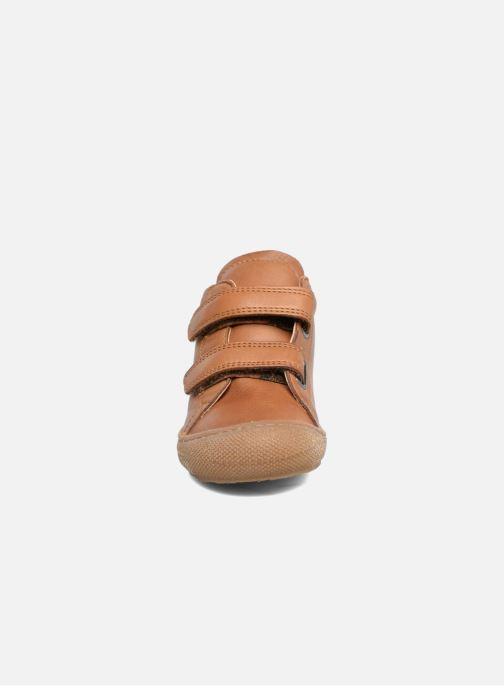 Baskets Naturino Cocoon VL Marron vue portées chaussures