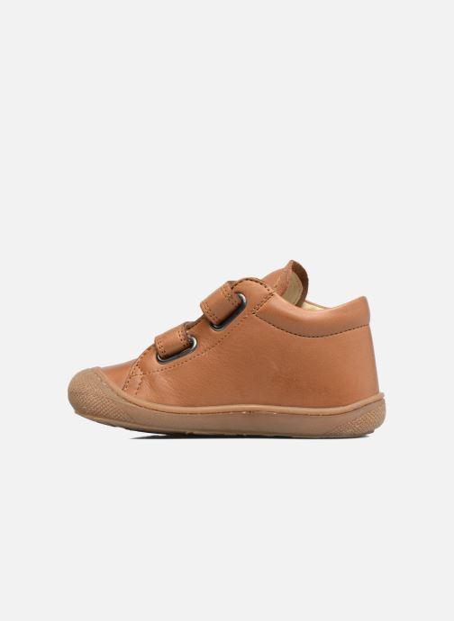 Sneakers Naturino Cocoon VL Bruin voorkant
