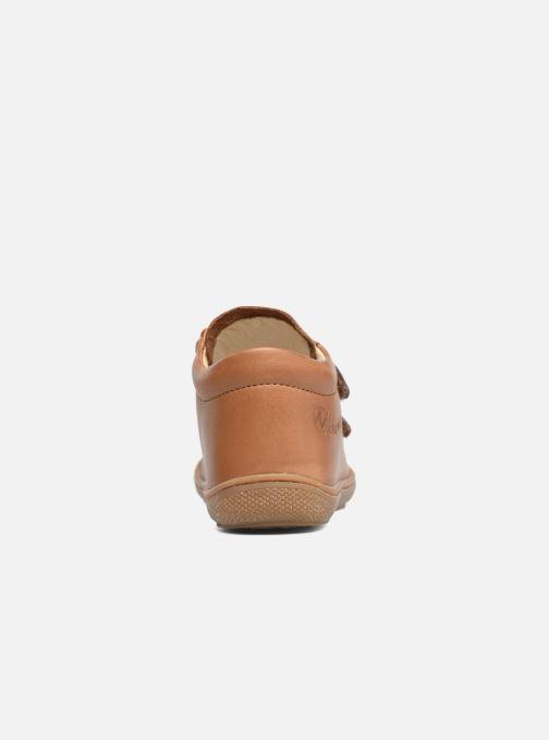 Sneaker Naturino Cocoon VL braun ansicht von rechts