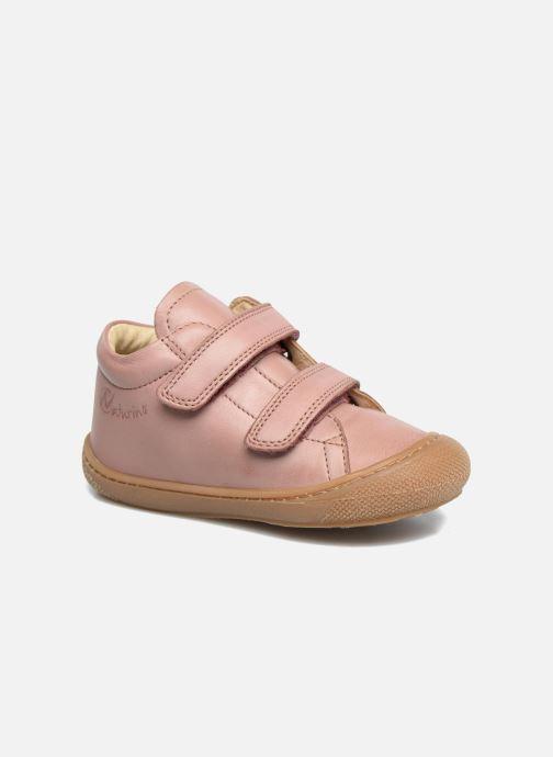 Baskets Naturino Cocoon VL Rose vue détail/paire