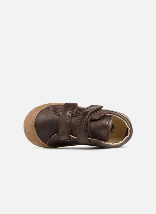 Sneaker Naturino Cocoon VL braun ansicht von links