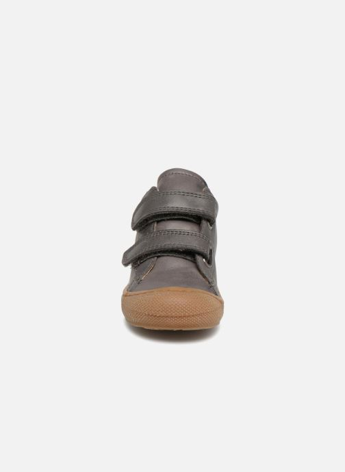 Sneaker Naturino Cocoon VL grau schuhe getragen