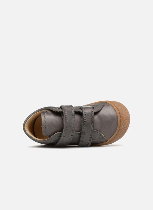 Sneaker Naturino Cocoon VL grau ansicht von links