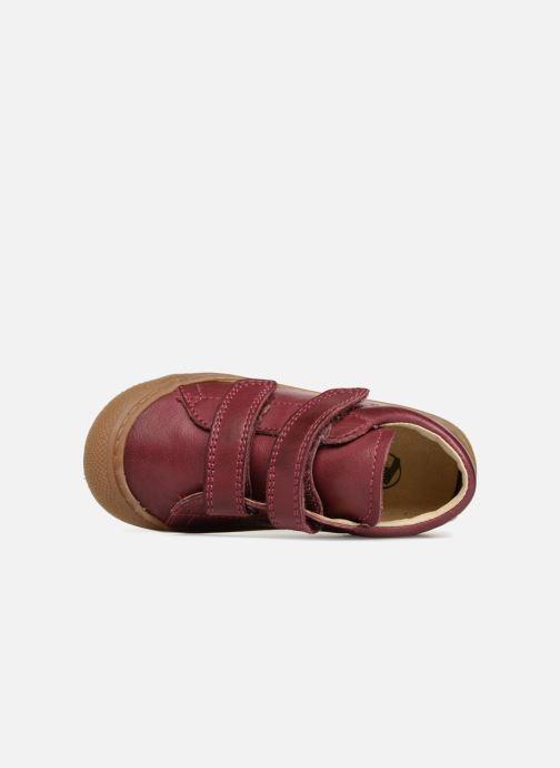 Sneaker Naturino Cocoon VL rosa ansicht von links