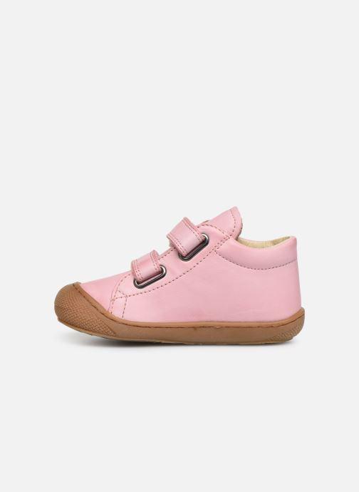 Sneaker Naturino Cocoon VL rosa ansicht von vorne
