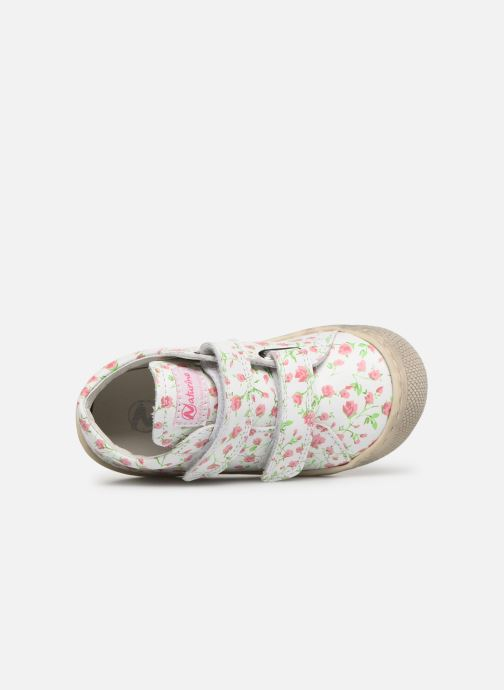 Trainers Naturino Cocoon VL White view from the left